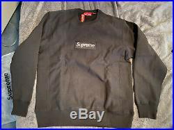 Supreme Box Logo Crewneck Sweatshirt (Black)