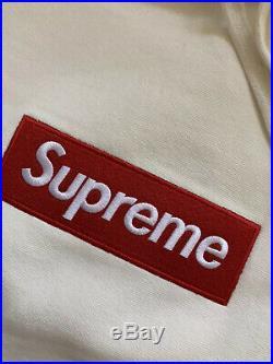Supreme Box Logo Hooded Size L White