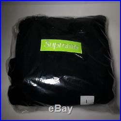 Supreme Box Logo Hooded Sweatshirt 100% Authentic Large Black Bogo Hoodie Fw17