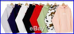 Supreme Box Logo Hooded Sweatshirt Brown Camo Small FW16 gucci cdg sage peach xl