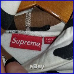 Supreme Box Logo Hooded Sweatshirt Camo XL 100% AUTHENTIC FW16