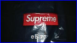 Supreme Box Logo Hooded Sweatshirt Hoodie BOGO Medium M Navy F/W16 New WithReceipt