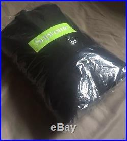 Supreme Box Logo Hooded Sweatshirt Hoodie Black Large IN HAND