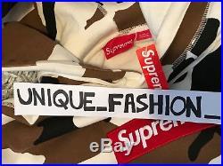 Supreme Box Logo Hooded Sweatshirt L Camo Large Fw16 Hoodie 2016 Bogo Genuine