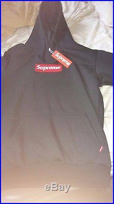 Supreme Box Logo Hoodie Black
