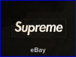 Supreme Box Logo Hoodie Black FW16 Size Large