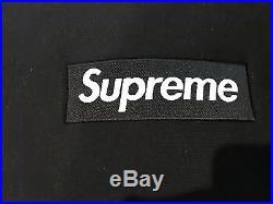 Supreme Box Logo Hoodie Black Large