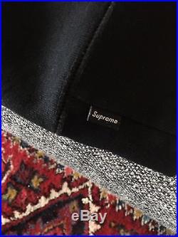 Supreme Box Logo Hoodie Black Large 100% authentic