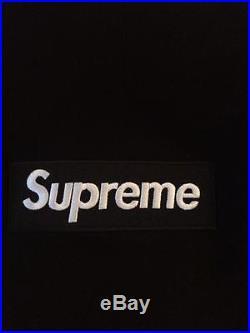Supreme Box Logo Hoodie (Black-Medium)