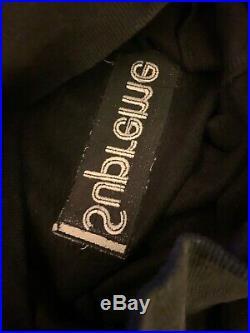 Supreme Box Logo Hoodie Black On Black Size Medium 100% Authentic