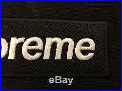 Supreme Box Logo Hoodie Black Size XL