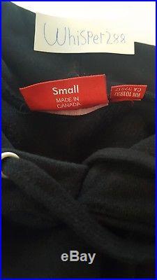Supreme Box Logo Hoodie Black Small