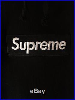 Supreme Box Logo Hoodie Black Unionhouse