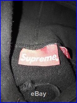Supreme Box Logo Hoodie Black Xl