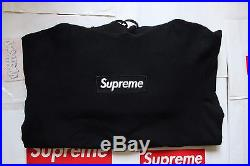 Supreme Box Logo Hoodie CDG PCL Comme Des Garcons Pullover Sweatshirt Black L