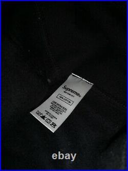 Supreme Box Logo Hoodie FW14 Tonal Black