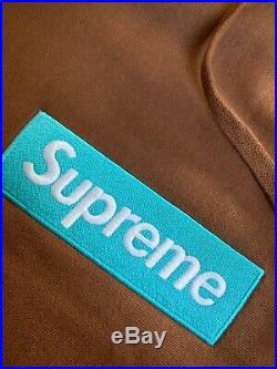 Supreme Box Logo Hoodie (FW16) Brown XLarge