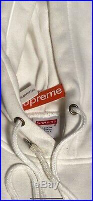 Supreme Box Logo Hoodie (FW16) Red/White Size S