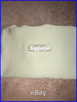 Supreme Box Logo Hoodie FW16 Sage large