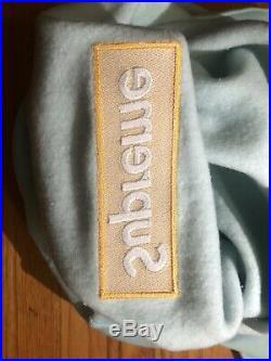 Supreme Box Logo Hoodie (FW17) Ice Blue Large