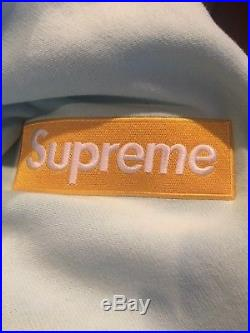 Supreme Box Logo Hoodie FW17 Ice Blue XL