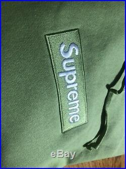 Supreme Box Logo Hoodie (FW17) Sage Large