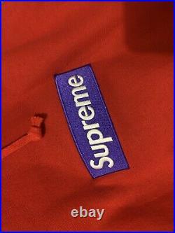 Supreme Box Logo Hoodie (FW17) Size XL Red/Purple