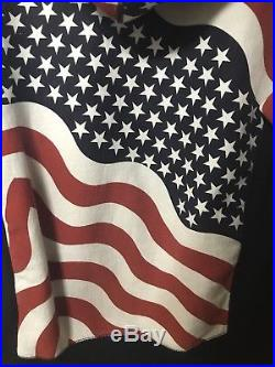 Supreme Box Logo Hoodie Flag USA FW14 Bogo Size Large