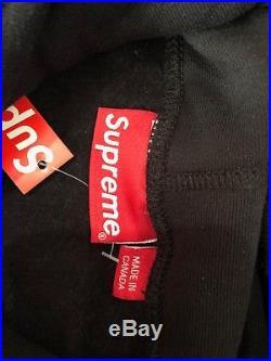 Supreme Box Logo Hoodie Fw16 Black Large