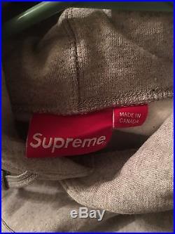 Supreme Box Logo Hoodie Gray M