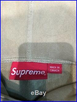 Supreme Box Logo Hoodie Green Large