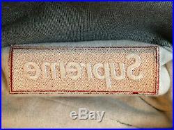 Supreme Box Logo Hoodie Grey FW16 Size M