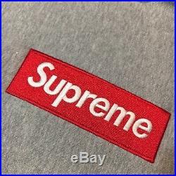 Supreme Box Logo Hoodie Grey (Red)