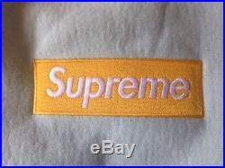 Supreme Box Logo Hoodie Hooded Sweatshirt Ice Blue Large L FW17