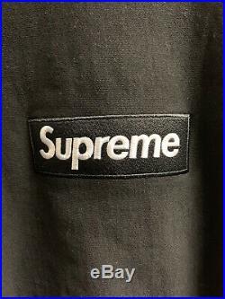 Supreme Box Logo Hoodie Large Black