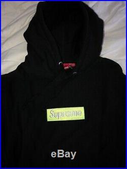 Supreme Box Logo Hoodie Lime Green Fw17