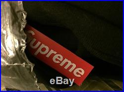 Supreme Box Logo Hoodie Medium M Black Tonal CDG PCL
