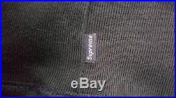 Supreme Box Logo Hoodie OG Very Rare Dark Navy Size XL 1000% Authentic
