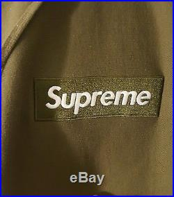 Supreme Box Logo Hoodie Olive Green'11 Lg Large