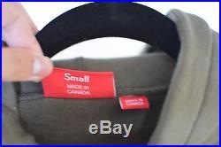 Supreme Box Logo Hoodie Olive Green F/W 2011 UA Small