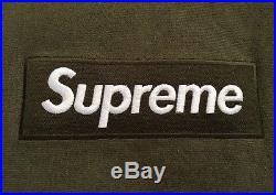 Supreme Box Logo Hoodie Olive L F/W'11 BAPE CDG PCL PALACE YEEZY KANYE