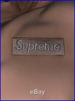 Supreme Box Logo Hoodie Peach Small