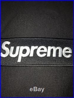 Supreme Box Logo Hoodie Pullover Black Sz M Medium Gucci Yeezy Blade