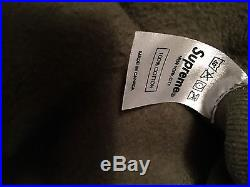 Supreme Box Logo Hoodie Rare Authentic 2011 Olive