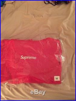 Supreme Box Logo Hoodie Red