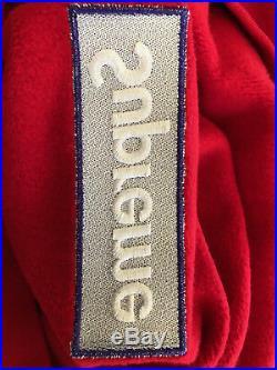 Supreme Box Logo Hoodie Red FW17 Size M