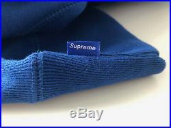 Supreme Box Logo Hoodie Royal Blue FW08 Large