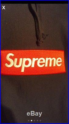 Supreme Box Logo Hoodie Size Large