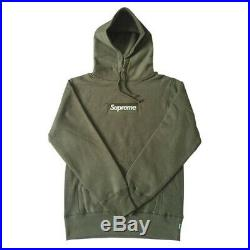 Supreme Box Logo Hoodie Small Olive New Without Tags Bogo Mens UA