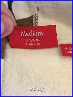 Supreme Box Logo Hoodie Sz Medium Cow Camo 100% Authentic